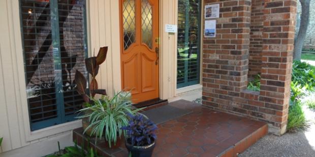 door to stop #103 on 2013 West Austin Studio Tour